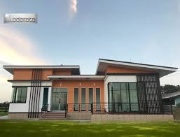 modern one story house design that