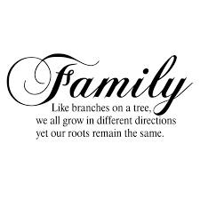 Firesidehome Family Like Branches On A Tree We All Grow In Different Directions Yet Our Roots Remain The Same Wall Decal Reviews Wayfair
