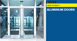 how to paint aluminum doors the easy way