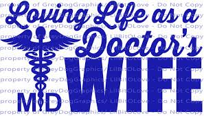 Loving Life As An Doctor S Wife Vinyl Decal By Lilbitolove On Zibbet