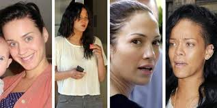 female celebrities without makeup 2016