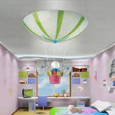 Cute Doll Pendant 3 Light Kids Bedroom Ceiling Lights