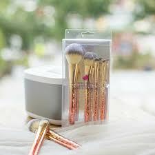 diamond makeup brush set