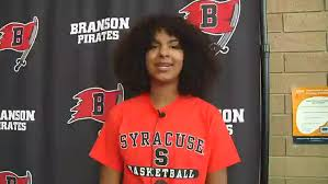 VIDEO: Priscilla Williams signs with Syracuse | Ozark Sports Zone