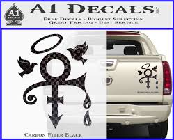 Prince Doves Cry Halo Decal Sticker A1 Decals