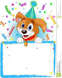Cumpleanos Del Perro Del Bebe Ilustracion Del Vector Ilustracion De Celebracion Perro 14113401