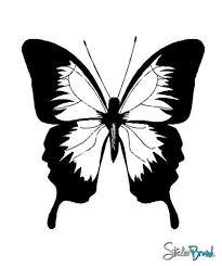 Vinyl Wall Art Decal Sticker Large Butterfly 105 Stickerbrand