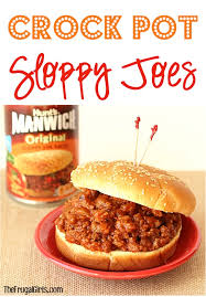 crock pot sloppy joes easy fort