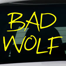 Decal Bad Wolf Buy Vinyl Decals For Car Or Interior Decal Factory Stickerpro Different Colors And Sizes Is Avalable Free World Wide Delivery