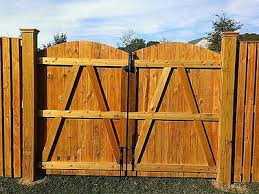 Wood Fencing Fence Deck Connection