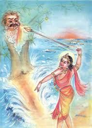 Image result for tiruchendur lord murugan soorasamharam