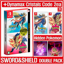 Qoo10 - Switch Pokemon Sword And Shield Double Pack [+Special codes_Hidden  Pok... : Computer & Game