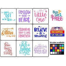 Vinyl Decal Sticker Motivation Quote Home Wall Cup Car Laptop Walmart Com Walmart Com