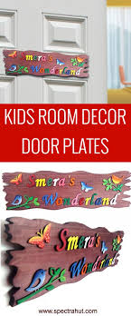 Buy Decorative Custom Name Plates Free Domestic Delivery Kids Room Kid Room Decor Name Plates For Home