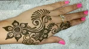 back hand mehndi design chex