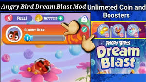 Angry Bird Dream Blast Mod apk v1.18.2 unlimeted coin, lives and ...
