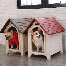 Indoor And Outdoor Dog Kennel Dog House House Type Small Dog Fence Pet Dog House Outdoor Rain Villa Home