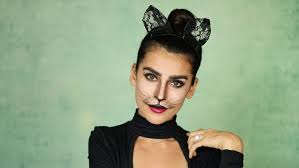 halloween cat makeup tutorial sazan