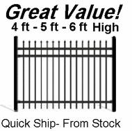 5ft Aluminum Pool Fence Pre Assembled Panels Ready Ship