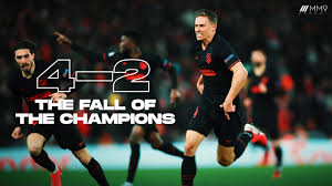 Atletico Madrid vs Liverpool 4-2 - The Fall of the Champions | Cinematic  Highlights - YouTube