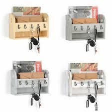 key hooks wall mounted wooden rack