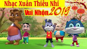 Xuân Xuân Ơi Xuân Đã Về! LK Nhạc Xuân Thiếu Nhi Vui Nhộn 2019 ...