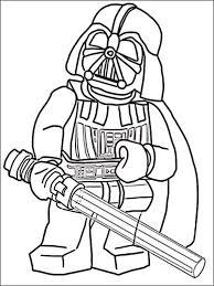Kleurplaat Lego Star Wars 12