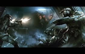 corridor machine alien armor fight