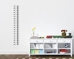 Ruler Children S Growth Chart Vinyl Wall Decal Rapid Vinyl