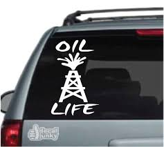 Oilfield Car Decals Stickers Decal Junky