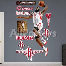 Houston Rockets James Harden Dunk Wall Decal Sticker Wall Decal Allposters Com