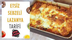 Patlıcanlı Lazanya Tarifi | Etsiz Sebzeli Lazanya Nasıl Yapılır ...