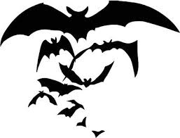 Bat Sticker Halloween Scary Horror Boo Car Window Vinyl Decal Goth Vampire Bats Ebay