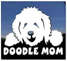 Amazon Com Goldendoodle Car Sticker