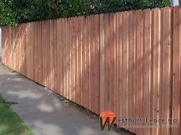 Dog Ear Board On Board Redwood Fence Dog Ear Fence Fence Modern Design