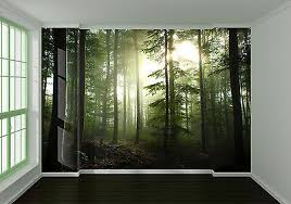 3d Forest Scenery 1 Wall Paper Wall Print Decal Wall Deco Indoor Wall Mural Home Ebay