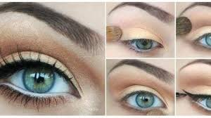 eye makeup in five steps to protect the