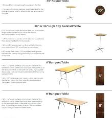 8 foot table seating patrol