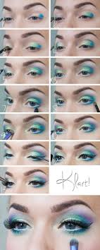 fantasy eye makeup step by saubhaya