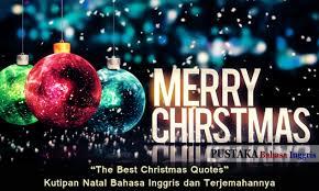 kata kata ucapan selamat natal dalam bahasa inggris