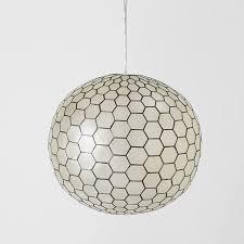 capiz orb pendants orb pendant light