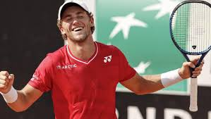 Casper Ruud reacts to making history for Norwegian tennis at Rome Masters