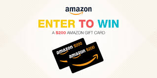 amazon gift card giveaway get a 200
