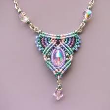 diy jewelry micro macrame jewelry