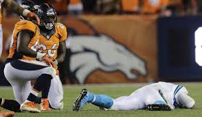 Broncos' Darian Stewart and Brandon Marshall are fined for helmet ...