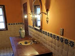 tuscan style bathrooms mexican style