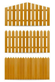Wooden Fence Vector Illustration Download Free Vectors Clipart Graphics Vector Art