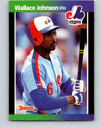 Amazon.com: 1989 Donruss #484 Wallace Johnson Mint Baseball MLB Expos:  Collectibles & Fine Art