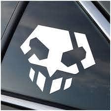 Bleach Shinigami Skull Vinyl Decal Sticker Stick Emall Vinyl Decals