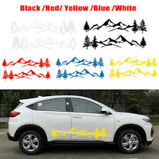 2pcs Car Body Forest Mountain Graphic Stickers Decal For Camper Rv Trailer Truck 25 10 Picclick